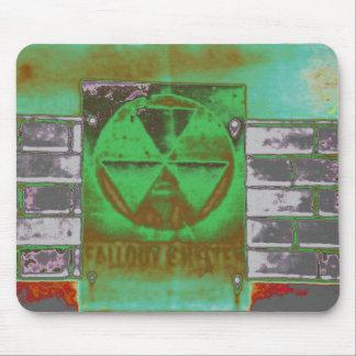 polvillo radiactivo verde tapete de ratón