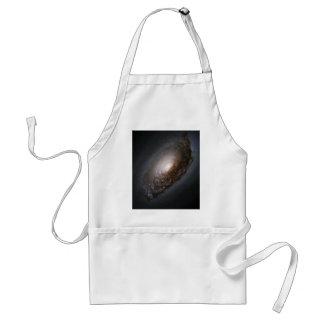 Polvo alrededor del núcleo de la galaxia M64 del o Delantal