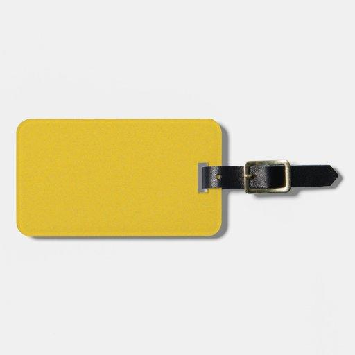 Polvo de estrella amarillo de la mandarina etiquetas bolsa