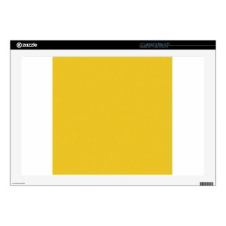 Polvo de estrella amarillo de la mandarina portátil skins