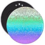 Polvo de estrella del brillo del botón pin