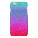 polvo de estrella del brillo del caso del iPhone 6