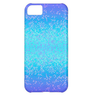 polvo de estrella del brillo del caso del iPhone Funda Para iPhone 5C