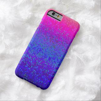 polvo de estrella delgado del brillo del caso del funda para iPhone 6 barely there