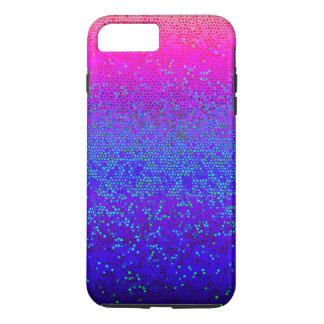 polvo de estrella duro del brillo del caso más del funda iPhone 7 plus