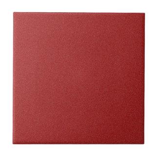 Polvo de estrella rojo oscuro de Apple de caramelo Azulejo Cuadrado Pequeño