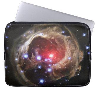 Polvo de estrella supergigante rojo de rubíes fundas computadoras
