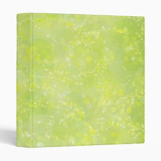 Polvo de hadas Bokeh de la verde lima Carpeta 2,5 Cm