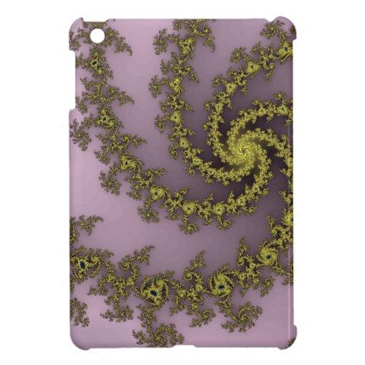Polvo de oro iPad mini cárcasa