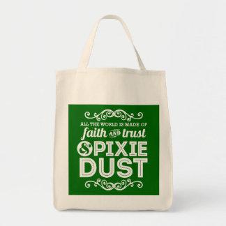 Polvo del duendecillo bolsa tela para la compra