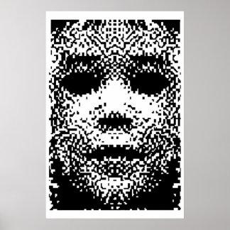 Polvo del pixel impresiones