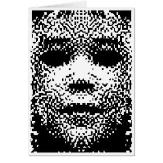Polvo del pixel tarjetón