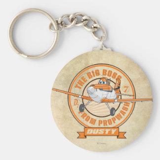 Polvoriento - el gran jefe de Propwash Llavero Redondo Tipo Pin