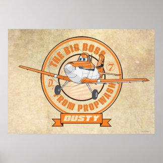 Polvoriento - el gran jefe de Propwash Poster