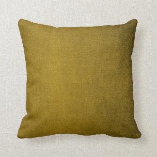 Polvorientos rústicos del vintage palidecen marrón cojín