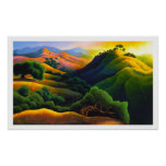 Poly Canyon Poster
