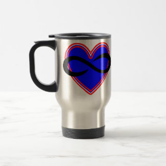 Poly Stainless Steel 15 oz Travel/Commuter Mug
