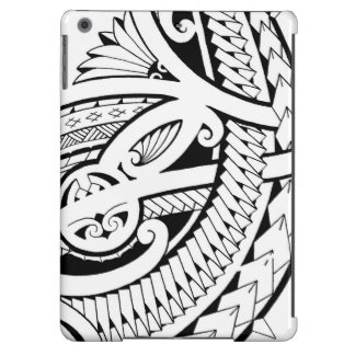 Poly tattoo design tribal elements iPad air covers