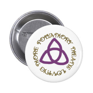 Poly Trinity Pinback Buttons