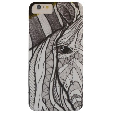 pacificstain Poly Zebra Barely There iPhone 6 Plus Case