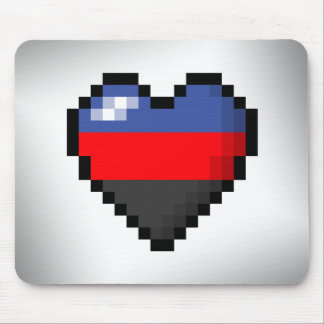 Polyamorous Pixel Heart Mouse Pad
