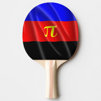 POLYAMOROUS PRIDE FLAG WAVY DESIGN - 2014 PRIDE.pn Ping Pong Paddle