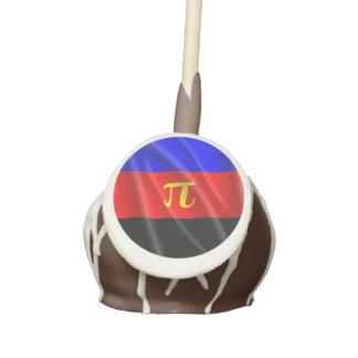 POLYAMOROUS PRIDE FLAG WAVY DESIGN - 2014 PRIDE.pn Cake Pops