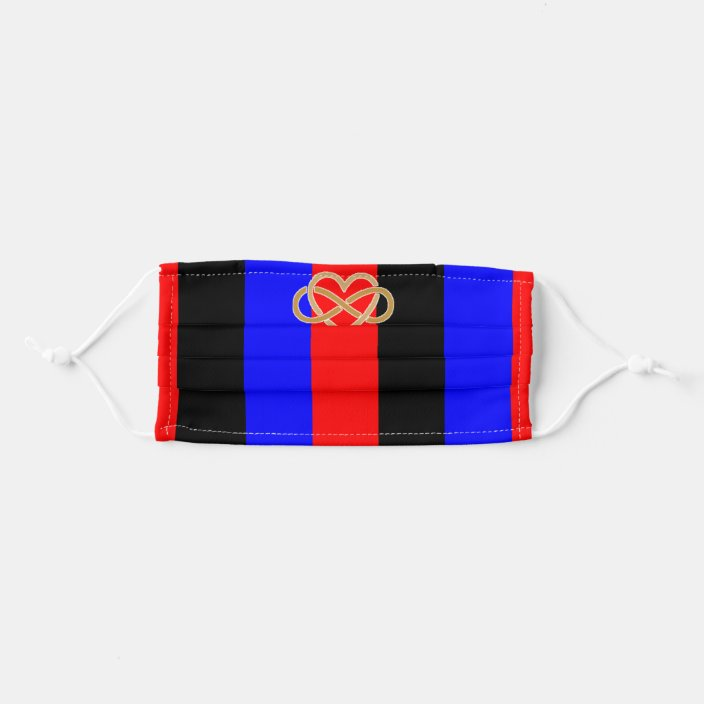 Polyamorous Pride Flag With Infinity Heart Symbol Adult Cloth Face Mask Zazzle Com Polyamorous can be used both as a description of a relationship with more than two people and as description of people who desire such relationships. zazzle