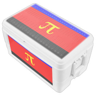 POLYAMOROUS STRIPES DESIGN - 2014 PRIDE.png Chest Cooler