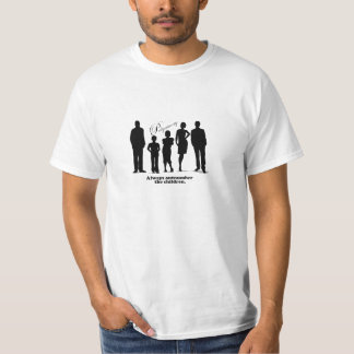 Polyamory, Always outnumber the children T-Shirt