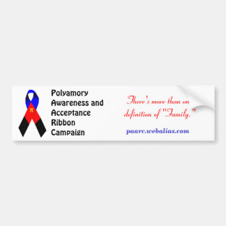Polyamory Awareness Bumpersticker Bumper Sticker