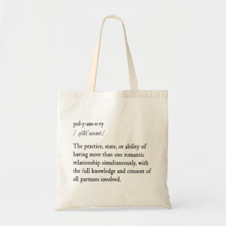 Polyamory Definition Tote