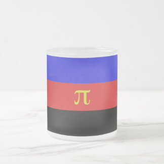 Polyamory Flag 10 Oz Frosted Glass Coffee Mug