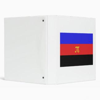 Polyamory Flag 3 Ring Binders