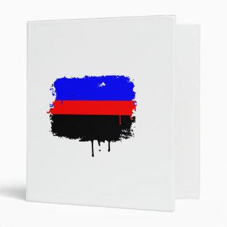 POLYAMORY FLAG DRIPPING VINYL BINDER