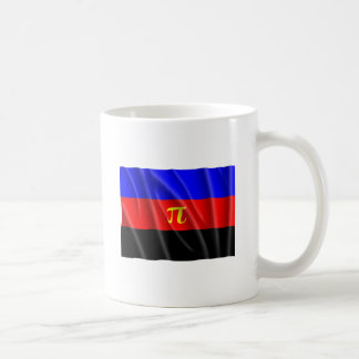 POLYAMORY FLAG FLYING CLASSIC WHITE COFFEE MUG