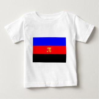 Polyamory Flag -- Pi 3-color Baby T-Shirt