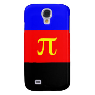Polyamory Flag -- Pi 3-color Galaxy S4 Covers