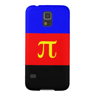 Polyamory Flag -- Pi 3-color Cases For Galaxy S5