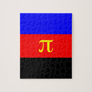 Polyamory Flag -- Pi 3-color Jigsaw Puzzle