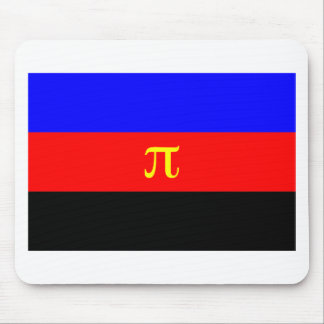 Polyamory Flag -- Pi 3-color Mouse Pad