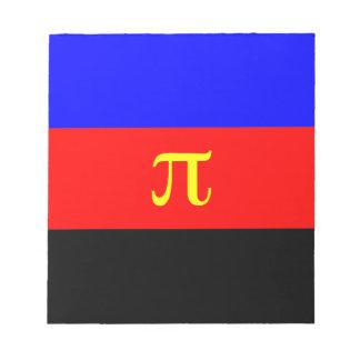 Polyamory Flag -- Pi 3-color Notepad