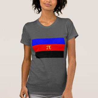 Polyamory Flag -- Pi 3-color T-Shirt