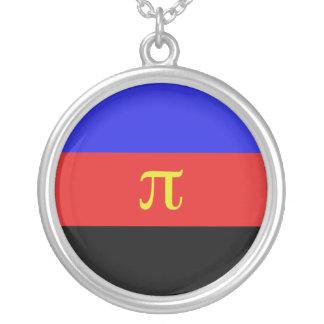 Polyamory Flag Round Pendant Necklace