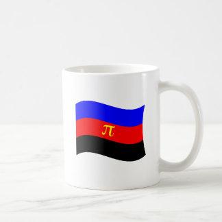 POLYAMORY FLAG WAVING CLASSIC WHITE COFFEE MUG