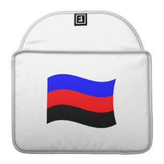POLYAMORY FLAG WAVING STRIPES SLEEVE FOR MacBook PRO