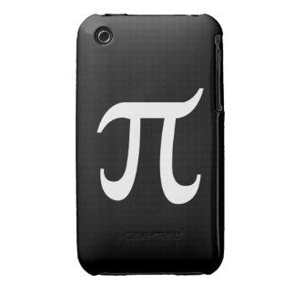 POLYAMORY PI SYMBOL WHITE Case-Mate iPhone 3 CASE