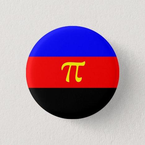 Polyamory/Polyamorous Pride Flag Badge Button