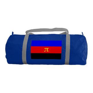 Polyamory Pride Flag Gym Duffel Bag