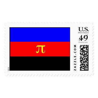 Polyamory Pride Flag Postage Stamp